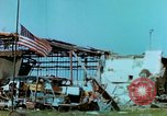 Image of damaged German hangar and USAAF P47 Thunderbolts Germany, 1945, second 29 stock footage video 65675020424