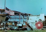 Image of damaged German hangar and USAAF P47 Thunderbolts Germany, 1945, second 30 stock footage video 65675020424