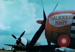 Image of damaged German hangar and USAAF P47 Thunderbolts Germany, 1945, second 43 stock footage video 65675020424