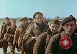 Image of liberated French soldiers Paris France, 1945, second 14 stock footage video 65675020433