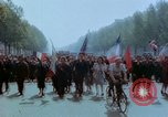 Image of VE Day celebrations Paris France, 1945, second 37 stock footage video 65675020434