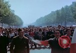Image of VE Day celebrations Paris France, 1945, second 41 stock footage video 65675020434