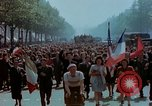 Image of VE Day celebrations Paris France, 1945, second 54 stock footage video 65675020434