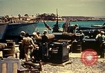 Image of North African Campaign Tunis Tunisia Tunis Port, 1942, second 60 stock footage video 65675020441