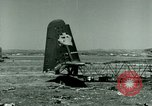 Image of Wreckage of German Messerschmitt Me 323 Gigant airplane in Tunis Tunis Tunisia, 1943, second 10 stock footage video 65675020477