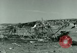 Image of Wreckage of German Messerschmitt Me 323 Gigant airplane in Tunis Tunis Tunisia, 1943, second 51 stock footage video 65675020477