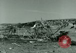 Image of Wreckage of German Messerschmitt Me 323 Gigant airplane in Tunis Tunis Tunisia, 1943, second 54 stock footage video 65675020477