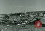 Image of Wreckage of German Messerschmitt Me 323 Gigant airplane in Tunis Tunis Tunisia, 1943, second 56 stock footage video 65675020477