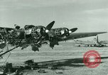 Image of Wreckage of German Me-323 transport airplane at El Aouina airfield Tunis Tunisia, 1943, second 6 stock footage video 65675020479