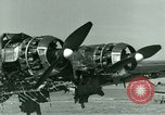 Image of Wreckage of German Me-323 transport airplane at El Aouina airfield Tunis Tunisia, 1943, second 30 stock footage video 65675020479
