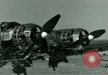 Image of Wreckage of German Me-323 transport airplane at El Aouina airfield Tunis Tunisia, 1943, second 32 stock footage video 65675020479