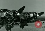 Image of Wreckage of German Me-323 transport airplane at El Aouina airfield Tunis Tunisia, 1943, second 38 stock footage video 65675020479