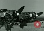 Image of Wreckage of German Me-323 transport airplane at El Aouina airfield Tunis Tunisia, 1943, second 39 stock footage video 65675020479