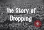Image of dropping supplies Papua New Guinea, 1944, second 27 stock footage video 65675020560