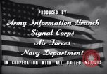Image of World War 2 effort home front America Springfield New Jersey USA, 1944, second 17 stock footage video 65675020570