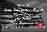 Image of World War 2 effort home front America Springfield New Jersey USA, 1944, second 19 stock footage video 65675020570