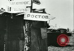 Image of destroyed town Russia, 1942, second 6 stock footage video 65675020601