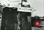Image of destroyed town Russia, 1942, second 7 stock footage video 65675020601