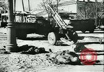 Image of destroyed town Russia, 1942, second 59 stock footage video 65675020601