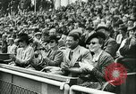 Image of Soccer match Vichy France, 1942, second 18 stock footage video 65675020603