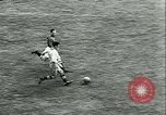 Image of Soccer match Vichy France, 1942, second 19 stock footage video 65675020603