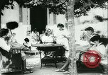Image of Spanish girls Spain, 1944, second 38 stock footage video 65675020616