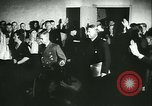 Image of Vidkun Quisling appointed minister-president at Akershus castle Oslo Norway, 1942, second 17 stock footage video 65675020624