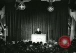 Image of Vidkun Quisling appointed minister-president at Akershus castle Oslo Norway, 1942, second 32 stock footage video 65675020624