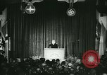Image of Vidkun Quisling appointed minister-president at Akershus castle Oslo Norway, 1942, second 33 stock footage video 65675020624