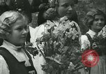 Image of Vidkun Quisling appointed minister-president at Akershus castle Oslo Norway, 1942, second 40 stock footage video 65675020624
