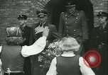 Image of Vidkun Quisling appointed minister-president at Akershus castle Oslo Norway, 1942, second 41 stock footage video 65675020624