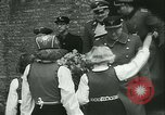 Image of Vidkun Quisling appointed minister-president at Akershus castle Oslo Norway, 1942, second 45 stock footage video 65675020624
