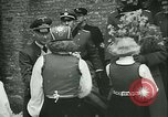 Image of Vidkun Quisling appointed minister-president at Akershus castle Oslo Norway, 1942, second 48 stock footage video 65675020624