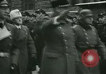 Image of Vidkun Quisling appointed minister-president at Akershus castle Oslo Norway, 1942, second 51 stock footage video 65675020624