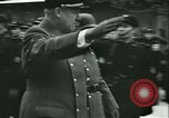 Image of Vidkun Quisling appointed minister-president at Akershus castle Oslo Norway, 1942, second 52 stock footage video 65675020624