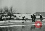 Image of Ice skating Berlin Germany, 1942, second 43 stock footage video 65675020625
