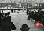 Image of Ice skating Berlin Germany, 1942, second 48 stock footage video 65675020625