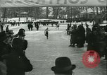 Image of Ice skating Berlin Germany, 1942, second 49 stock footage video 65675020625
