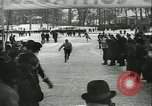Image of Ice skating Berlin Germany, 1942, second 50 stock footage video 65675020625