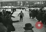 Image of Ice skating Berlin Germany, 1942, second 51 stock footage video 65675020625