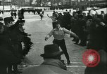 Image of Ice skating Berlin Germany, 1942, second 52 stock footage video 65675020625
