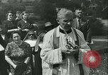 Image of Religious procession Croatia, 1942, second 17 stock footage video 65675020630