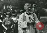 Image of Religious procession Croatia, 1942, second 18 stock footage video 65675020630