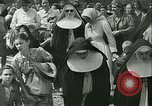 Image of Religious procession Croatia, 1942, second 21 stock footage video 65675020630