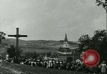 Image of Religious procession Croatia, 1942, second 26 stock footage video 65675020630