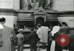 Image of Religious procession Croatia, 1942, second 36 stock footage video 65675020630