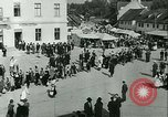 Image of Religious procession Croatia, 1942, second 47 stock footage video 65675020630