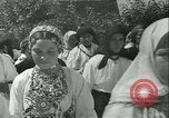 Image of Religious procession Croatia, 1942, second 49 stock footage video 65675020630