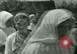 Image of Religious procession Croatia, 1942, second 50 stock footage video 65675020630