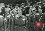 Image of Vichy Legion Tricolore troops Paris France, 1942, second 5 stock footage video 65675020635